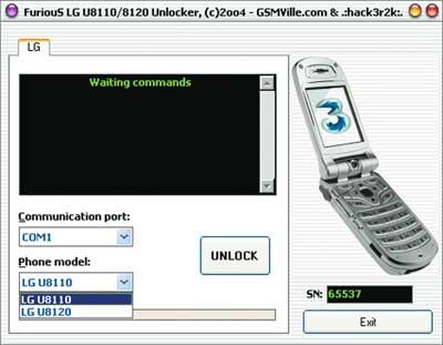 Программу для разблокировке телефона lg