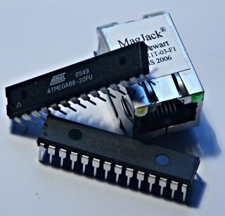 Ethernet –устройство на микроконтроллере AVR