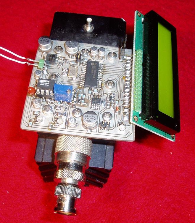 30 W Digital Wattmeter for RF (0-500MHz)