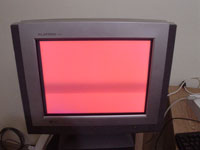 CRT red