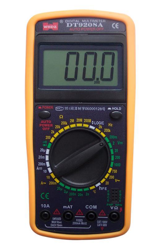 Мультиметр Dt-9208а Инструкция - фото 2