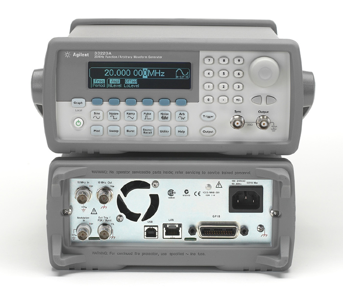 Генератор сигналов Agilent 33220A