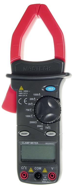 Токоизмерительные клещи Mastech MS2001C