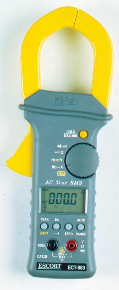 Токовые клещи Escort ECT-680