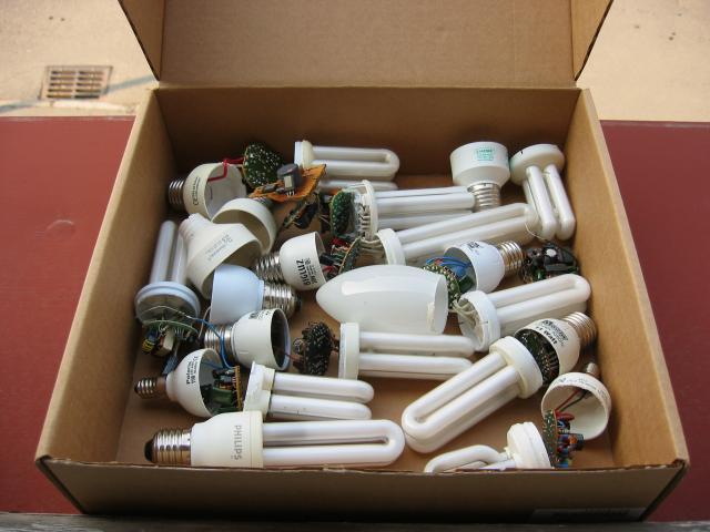Компактные флуоресцентные лампы CFL