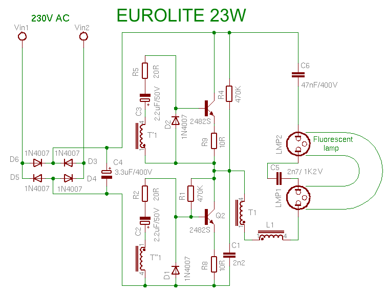 EUROLITE 23W