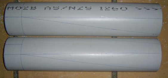 Quick PVC wind turbine / windmill blades_2