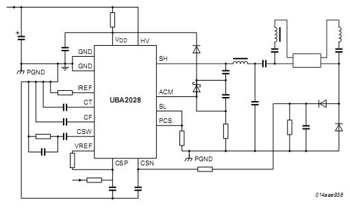 Схема включения UBA2028