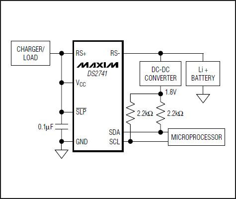 Схема включения DS2741N+