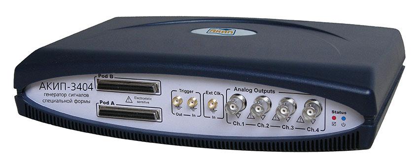 USB генератор АКИП-3404 (256 K)