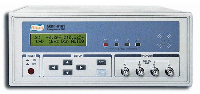Измеритель RLC АКИП-6101