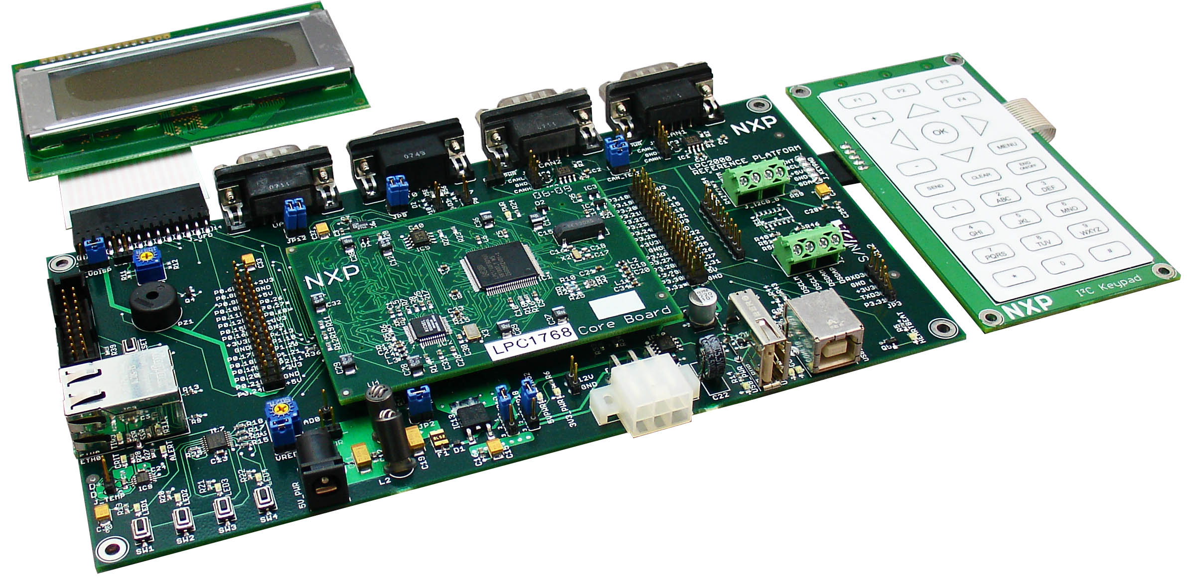 Industrial reference design board FDI IRD-LPC1768-DEV - Documents