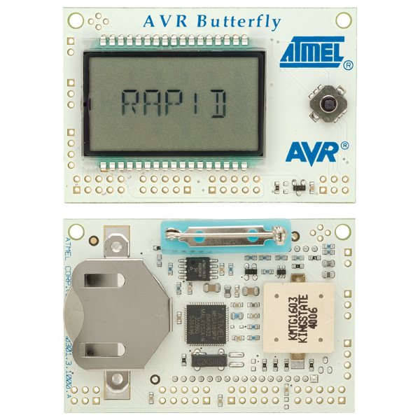 Evaluation board Atmel AVR erfly