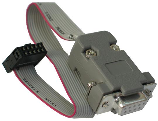 Интерфейс RS232 Подключение ICSP10 (Atmel) Совместимость Atmel AVR STKxxx ПО поддерживающее работу.  Olimex.