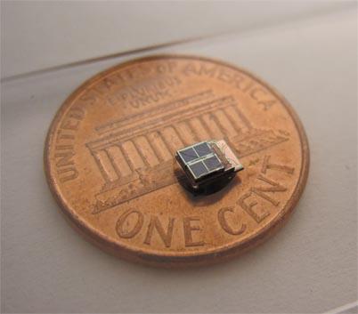 Millimeter-scale, energy-harvesting sensor system developed