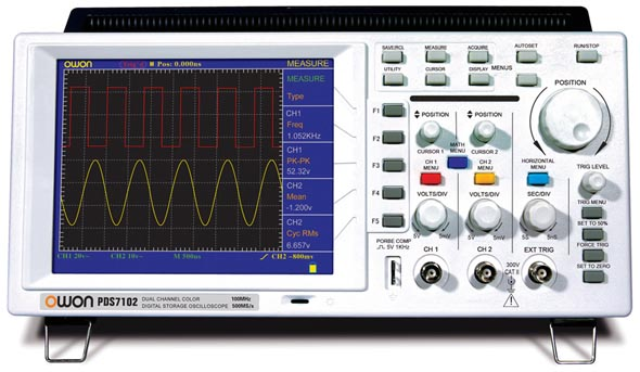 Digital Storage Oscilloscope Owon PDS7102T