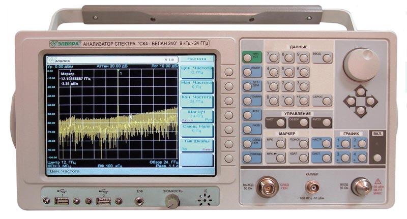 Анализатор спектра Элвира СК4-БЕЛАН 240