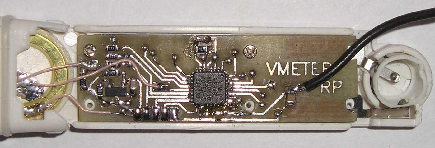 вольтметр напряжения на атмеге 8 - Практическая схемотехника.