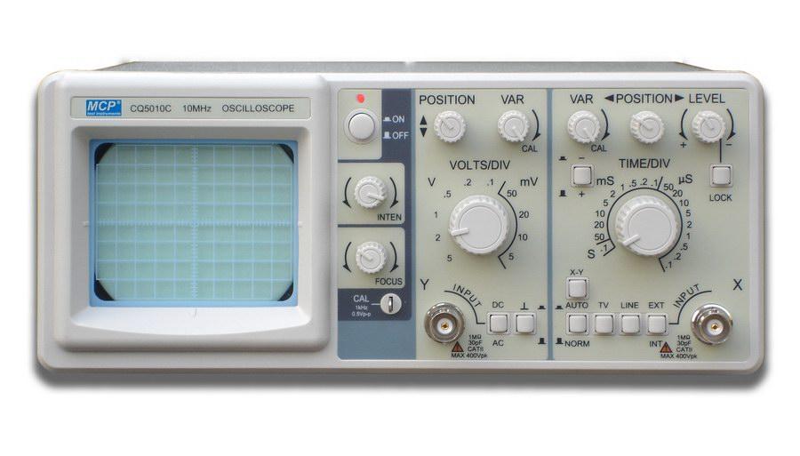Oscilloscope MCP CQ5010C
