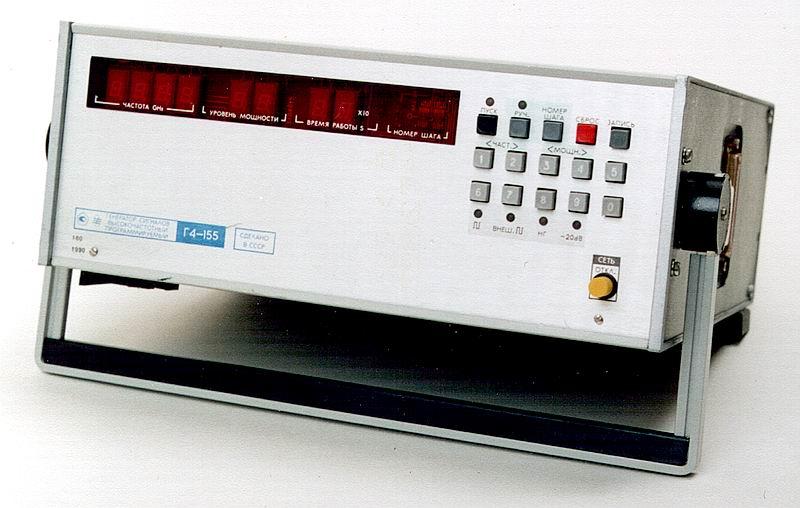 Г4-155 Генератор сигналов высокочастотный Г4-155.  Увеличить.