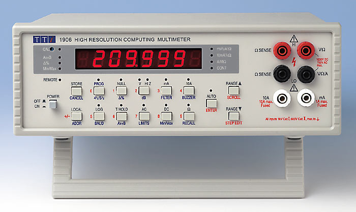 5.5 Digit LED Bench Multimeter TTi 1906