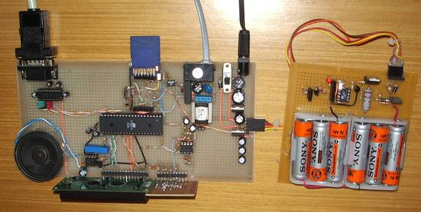 Автономная система записи телефонных разговоров на микроконтроллере AVR.
