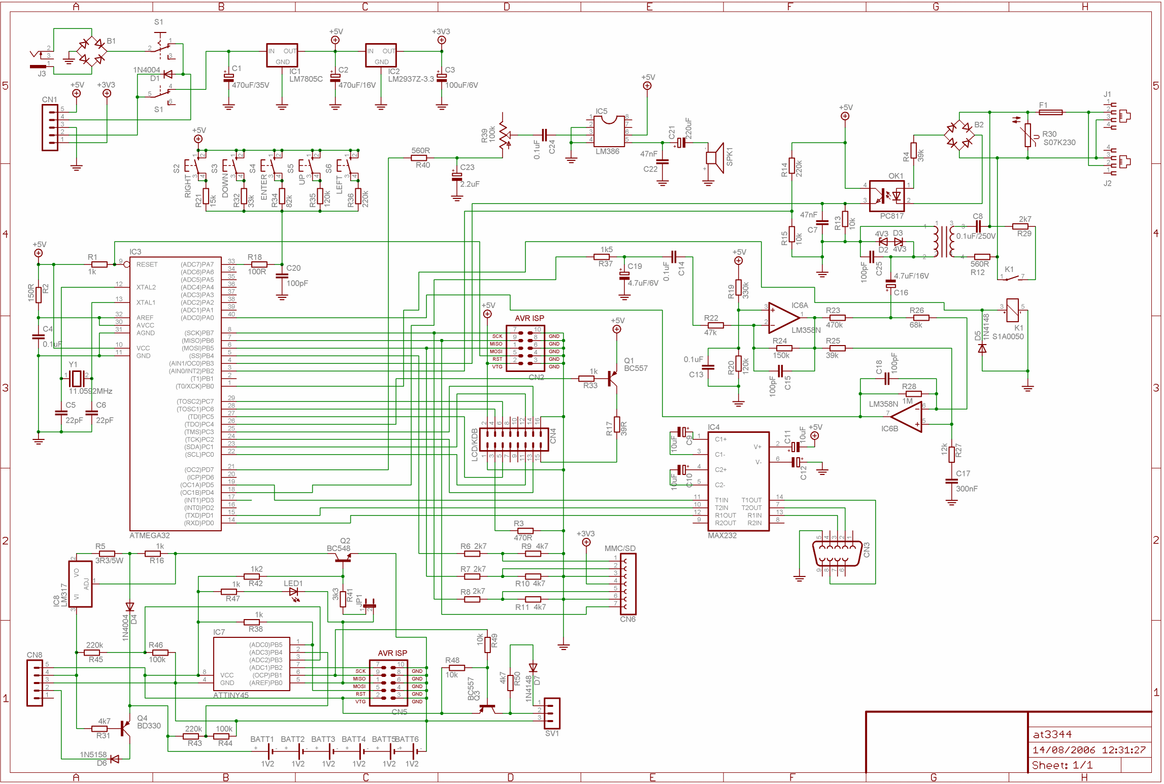 Avr Phone Recorder Telephony Platform Part 1 Lm324 Comparator Circuit Http Wwwcircuitsonlinenet Forum View Click To Enlarge