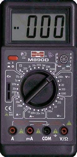 Мультиметр Mastech M890D