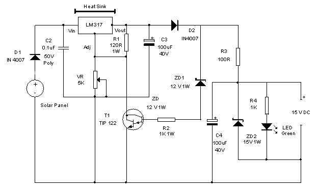 Solar Inverter Battery Charger Circuit