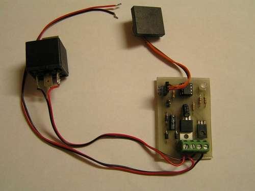 Car Alarm And Immobilizer Circuit