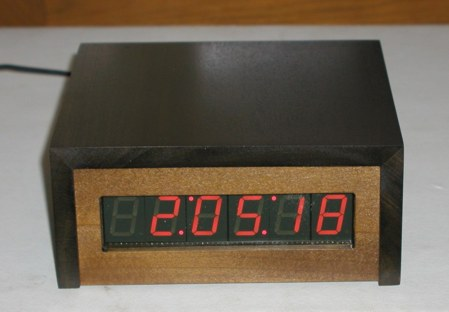 PIC based WWVB clock