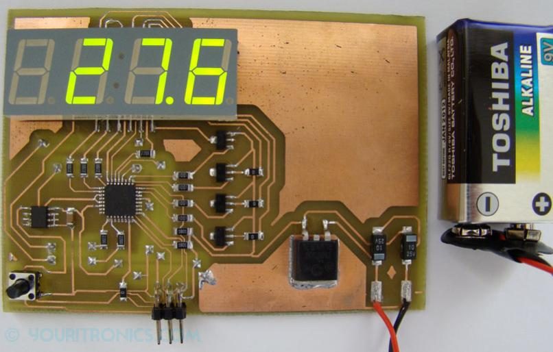 TMP275 digital sensor thermometer