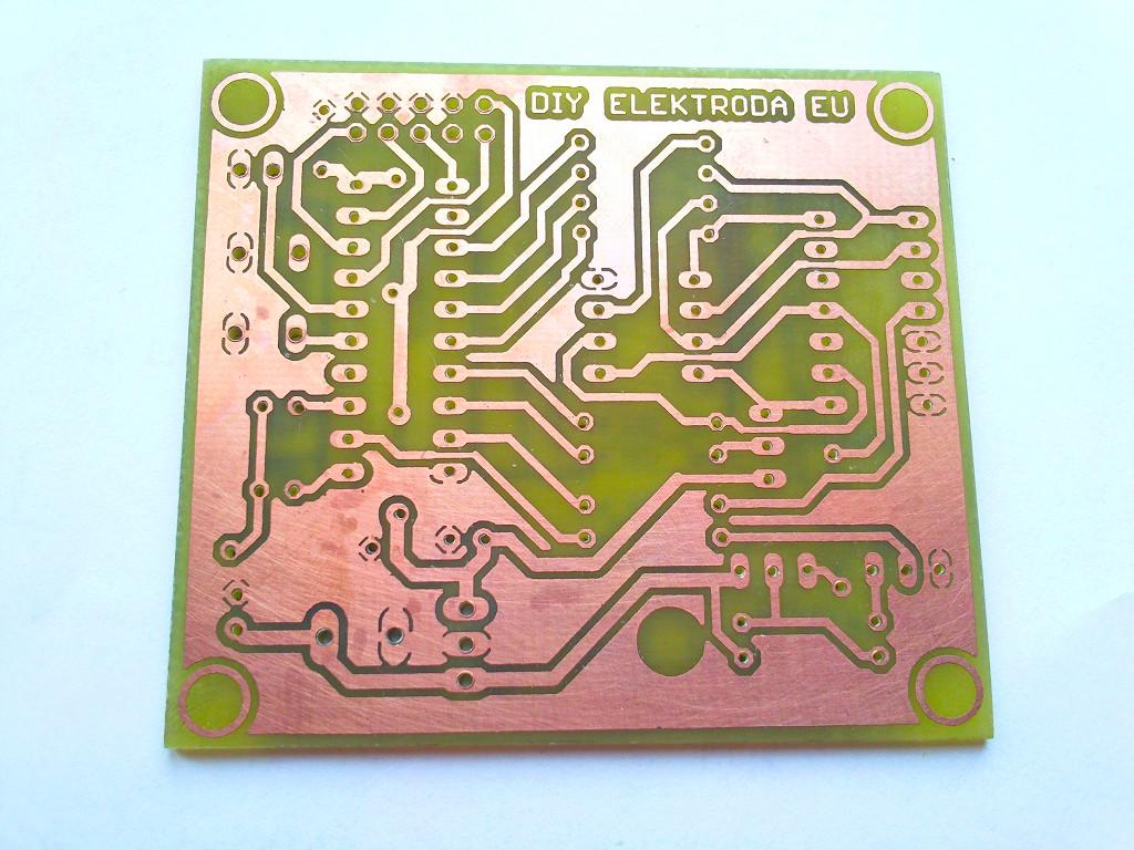 Печатная плата: устройство для восстановления Fuse-битов AVR