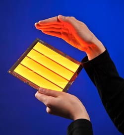 Novaled to introduce ultraflat OLED luminaires at Light + Building