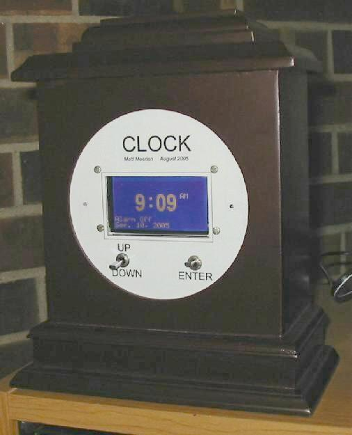 Graphical Alarm Clock (Atmel ATmega32)