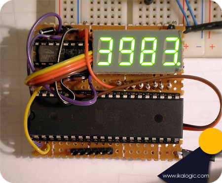 Frequency meter on ATmega16