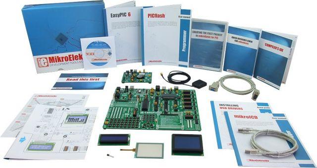 MikroElektronika: Easy GPS Kit 1 – PIC, Easy GPS Kit 2 – PIC, Easy GPS Kit 3 – PIC