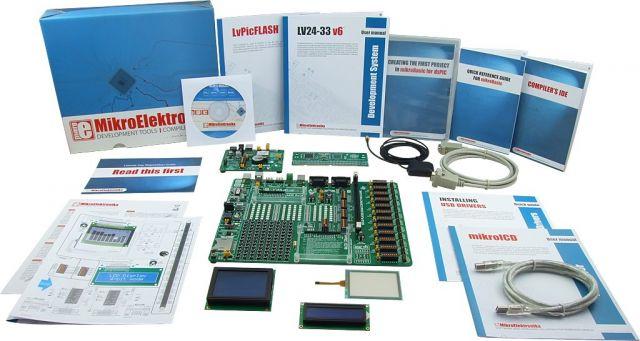 MikroElektronika: Easy GPS Kit 1 – PIC24/dsPIC33, Easy GPS Kit 2 – PIC24/dsPIC33, Easy GPS Kit 3 – PIC24/dsPIC33