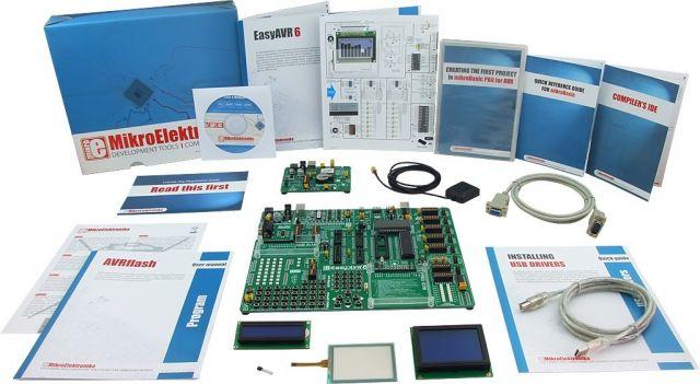 MikroElektronika: Easy GPS Kit 1 – AVR, Easy GPS Kit 2 – AVR, Easy GPS Kit 3 – AVR