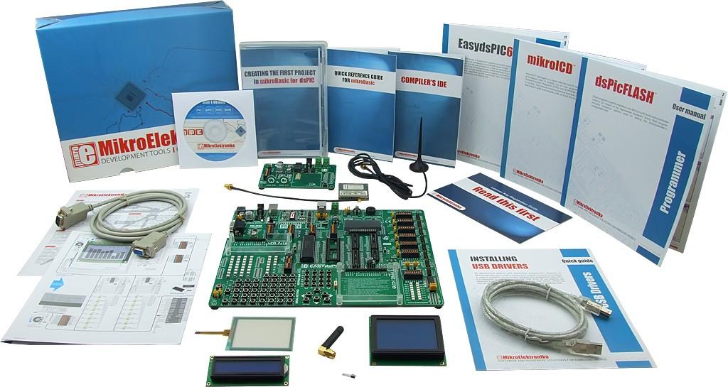 MikroElektronika:Easy GSM Kit 1 – dsPIC, Easy GSM Kit 2 – dsPIC, Easy GSM Kit 3 – dsPIC