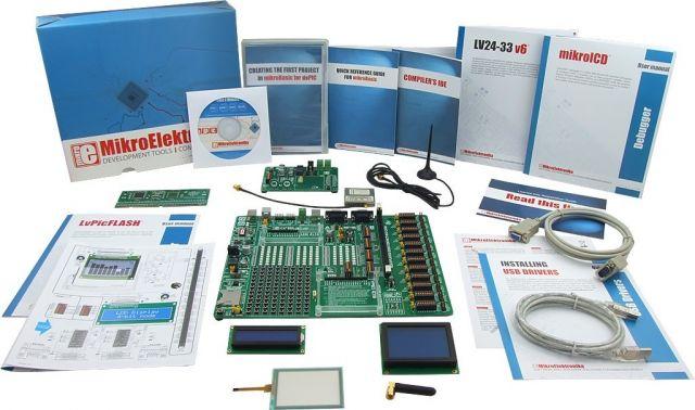 MikroElektronika: Easy GSM Kit 1 – PIC24/dsPIC33, Easy GSM Kit 2 – PIC24/dsPIC33, Easy GSM Kit 3 – PIC24/dsPIC33