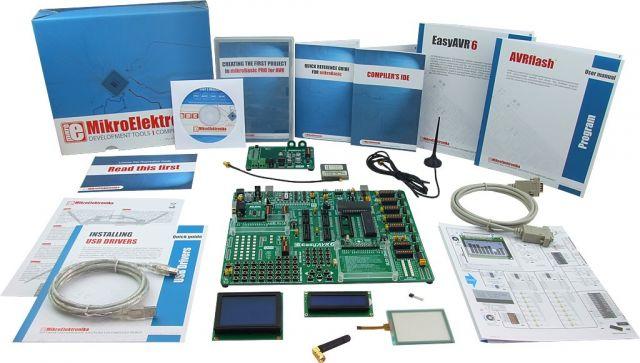 MikroElektronika: Easy GSM Kit 1 – AVR, Easy GSM Kit 2 – AVR, Easy GSM Kit 3 – AVR
