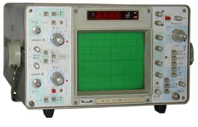 Осциллограф универсальный С1-114 предназначен для исследования формы электрических сигналов.
