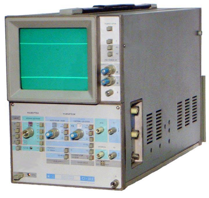 С1-102 двухлучевой осциллограф предназначен для исследования формы периодических электрических сигналов в диапазоне...