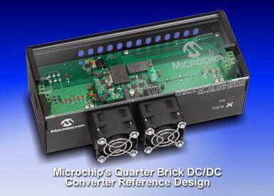 Microchip:Quarter Brick DC/DC Converter Reference Design