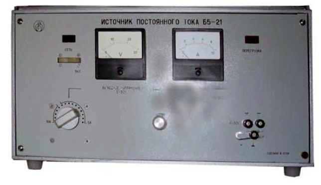 питания Радиоприбор Б5-21