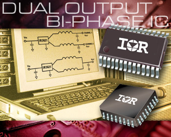 IR3621M IR3621F voltage-mode dual output bi-phase synchronous buck controller-driver ICs