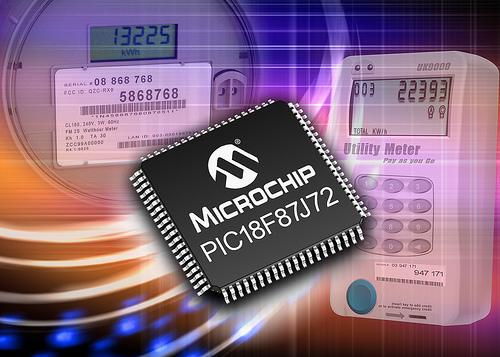 Microchip: PIC18F87J72