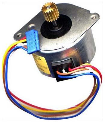 Управление шаговым двигателем через USB (Управление. на стъпков.