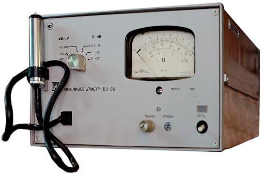 Милливольтметр Пунане-РЭТ В3-36